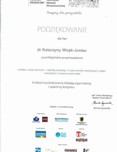 1 Kongres Edukacyjny, Gdańsk 2014